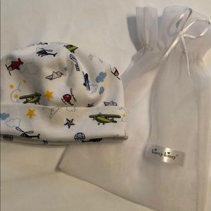 Kissy Kissy Newborn Hat with Bag